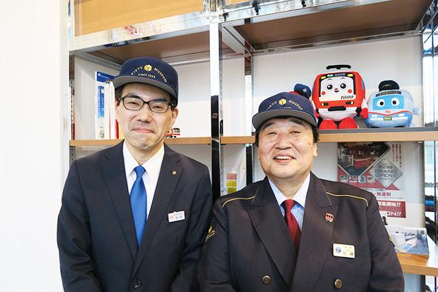 館長:佐藤さん(右)、営業企画課:飯島さん(左)/京急ミュージアム(神奈川県/横浜市)