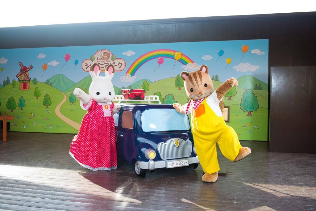 ステージショーも開催 ※写真は茨城県「こもれび森のイバライド」のもの