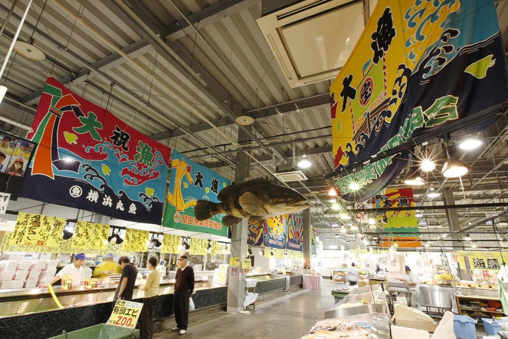 市場コーナー/とれとれ市場(和歌山県/西牟婁郡白浜町)