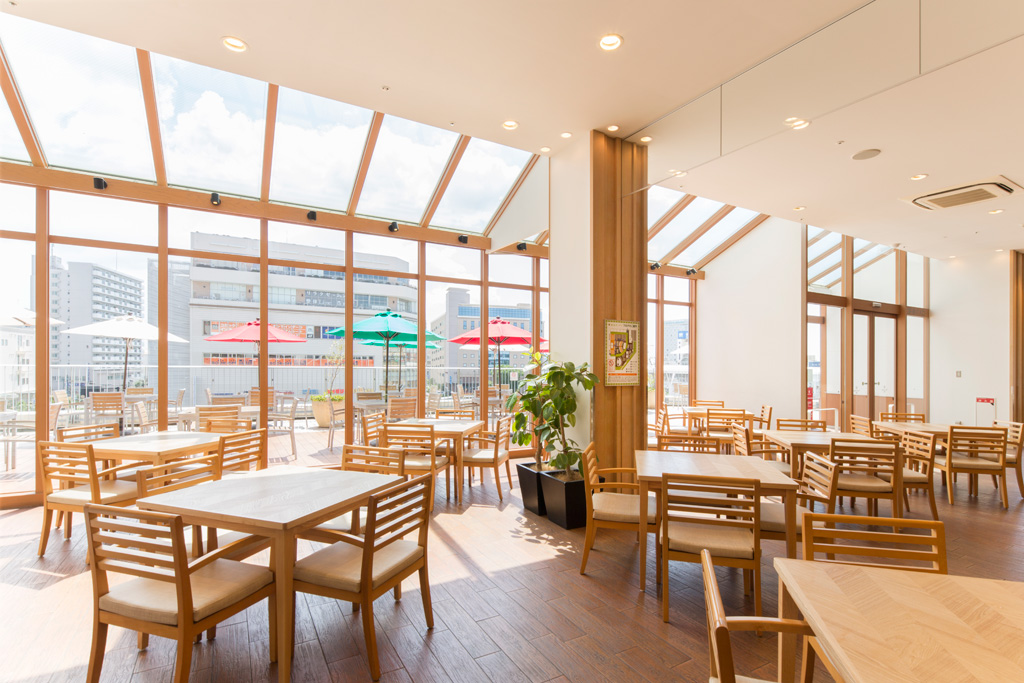 3階フードコート「潮風キッチン」/テラスモール湘南(神奈川県/藤沢市)