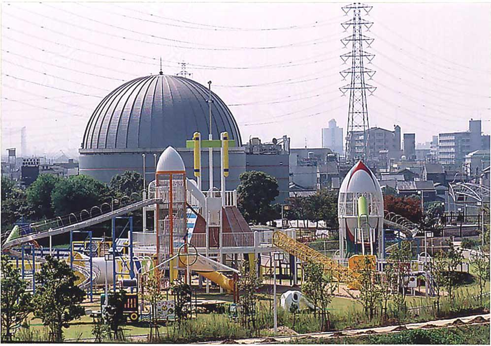 大型複合遊具/ラガーステーション花園(花園中央公園)(大阪府東大阪市)