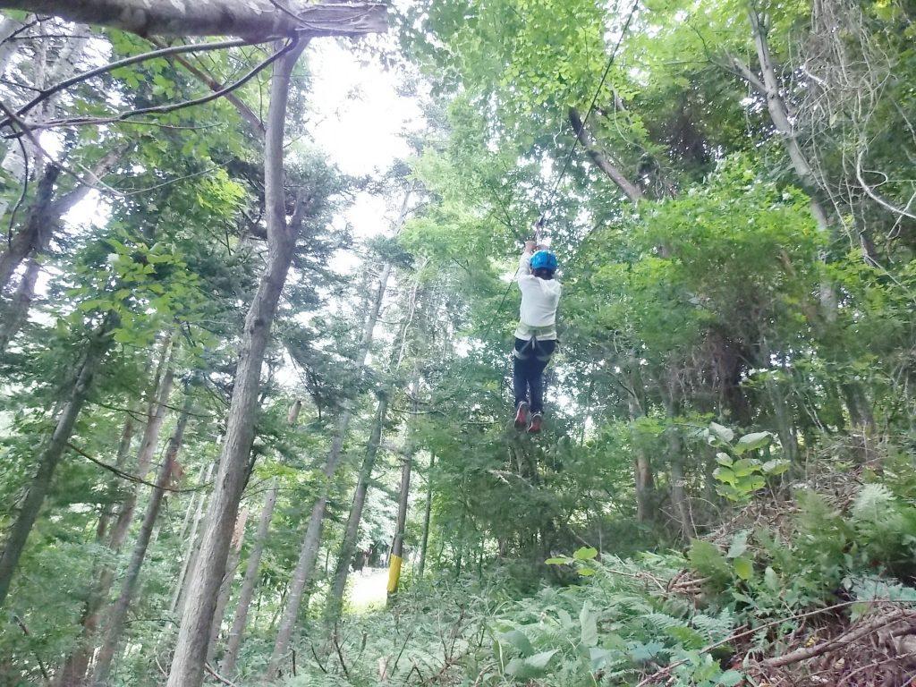 ban.Kジップライン/ばんけいの森 ban.Kツリーアドベンチャー(北海道札幌市)