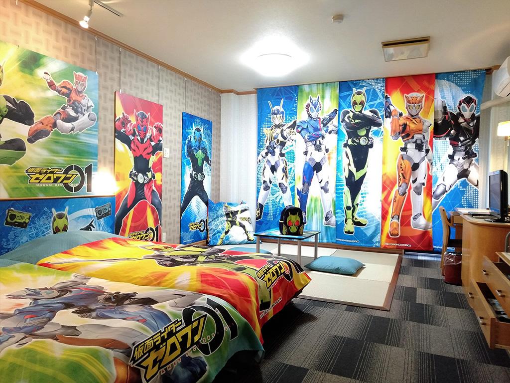 仮面ライダーゼロワンルーム/白樺リゾート 池の平ホテル(長野県/立科町)
