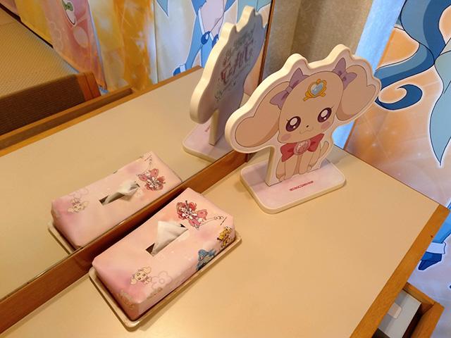 ヒーリングっどプリキュアルームのドレッサー/白樺リゾート 池の平ホテル(長野県/立科町)