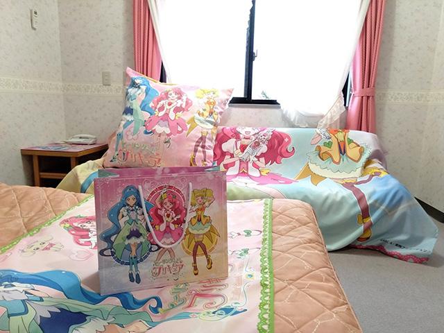 プリキュアルームの特典の手提げ/白樺リゾート 池の平ホテル(長野県/立科町)