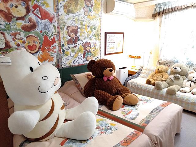 テディベアルーム/白樺リゾート 池の平ホテル(長野県/立科町)