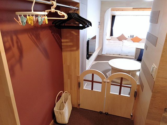 ママと子ルーム(mamatoco room)のクローゼット/白樺リゾート 池の平ホテル(長野県/立科町)