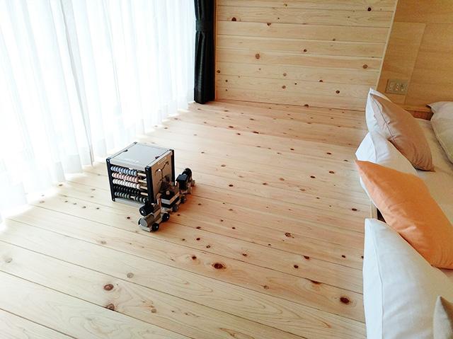 ママと子ルーム(mamatoco room)のひなたぼっこスペース/白樺リゾート 池の平ホテル(長野県/立科町)