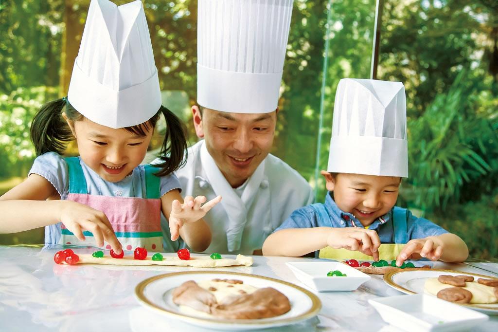 親子で一緒にお菓子作り/ホテル椿山荘東京(東京都/文京区)