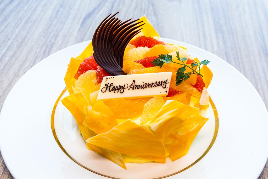 ホテルパティシエオリジナルのケーキ/リーベルホテル アット ユニバーサル・スタジオ・ジャパン