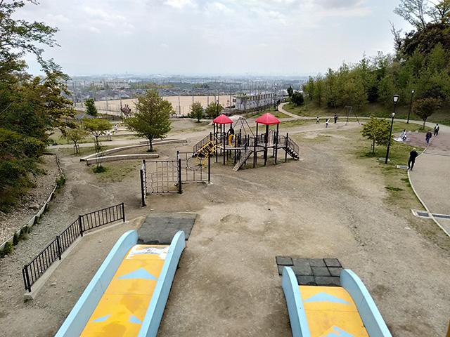 ダブルフリーフォール/彩都なないろ公園(大阪府/箕面市)