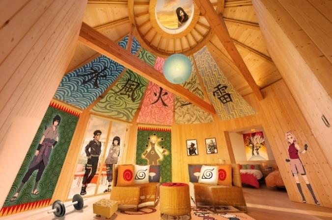 『NARUTO-ナルト-』をテーマにした新棟「火影の別荘」/GRAND CHARIOT 北斗七星135°(兵庫県/淡路市)