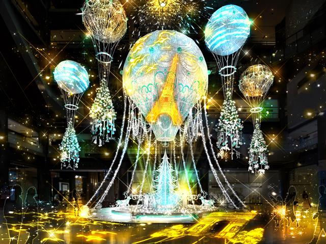 Grand Wish Christmas 2020(大阪府/大阪市北区)