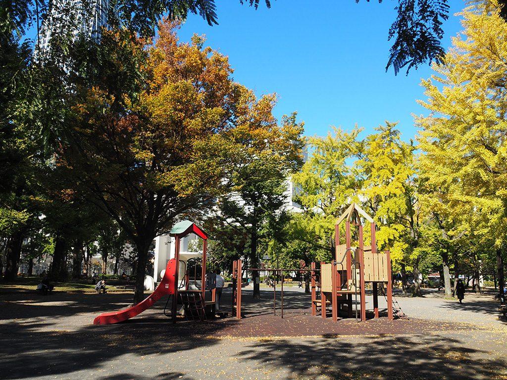 都立芝公園の遊具(東京都/港区)
