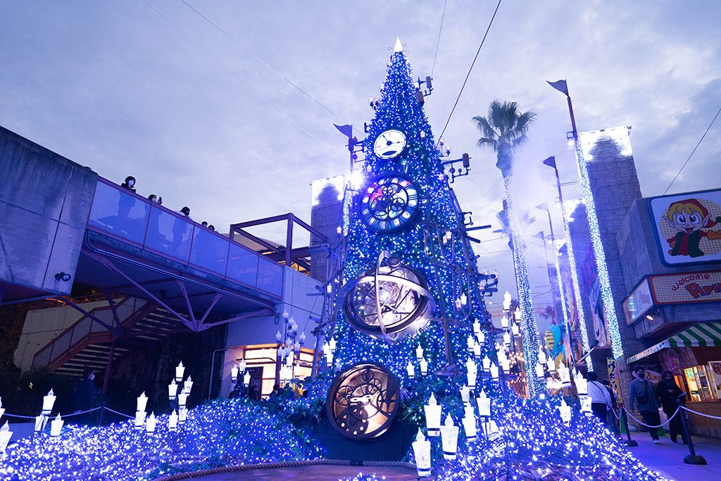 イルミイベント 光の遊園地:ミステリアスマジックストリート/ひらかたパーク(大阪府/枚方市)