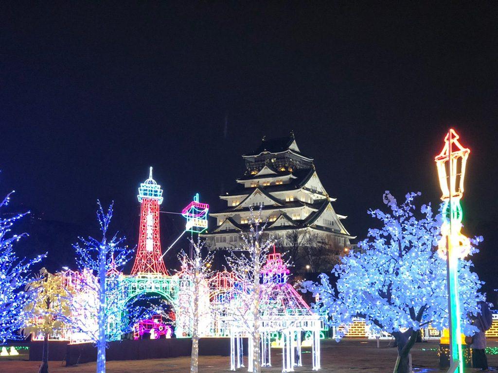 子連れに人気のイルミネーション!大阪城イルミナージュ(2020-2021)徹底紹介