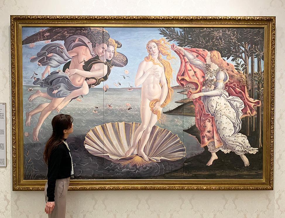 ボッティチェッリ『ヴィーナスの誕生』/大塚国際美術館(徳島県/鳴門市)