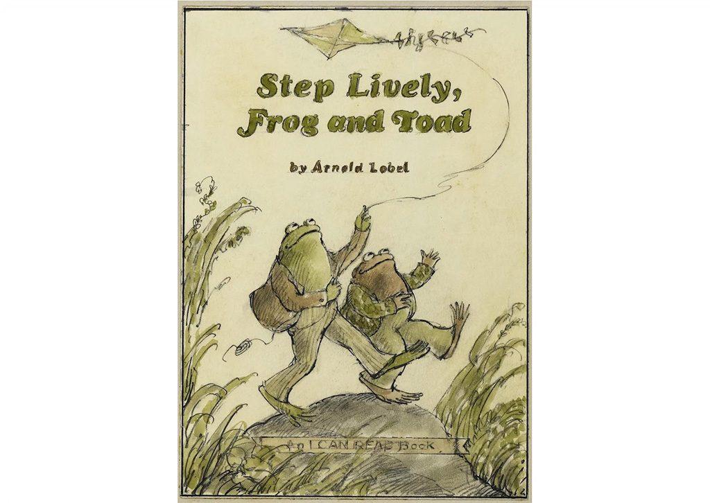 『ふたりはきょうも』(1979)表紙下絵 Courtesy of the Estate of Arnold Lobel. © 1979 Arnold Lobel. Used by permission of HarperCollins Publishers.
