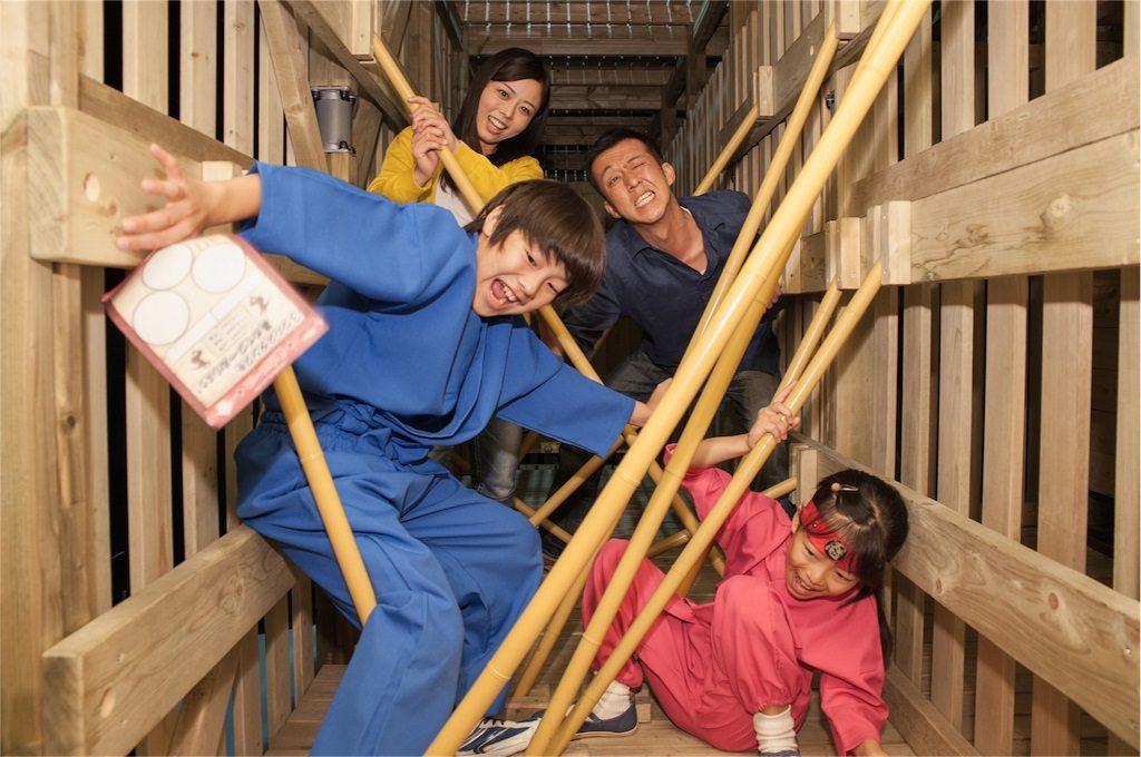 関西で忍者体験!親子でいっしょに忍者ショーや忍者修行を楽しめるスポット