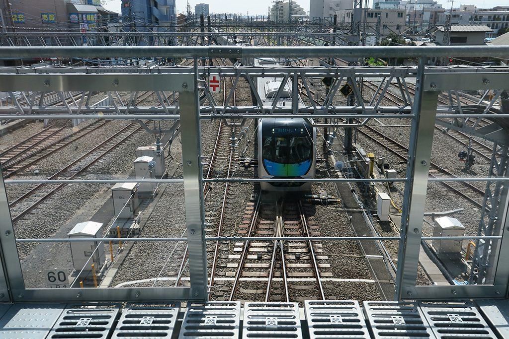 所沢駅屋外デッキからの眺め(埼玉県/所沢市)