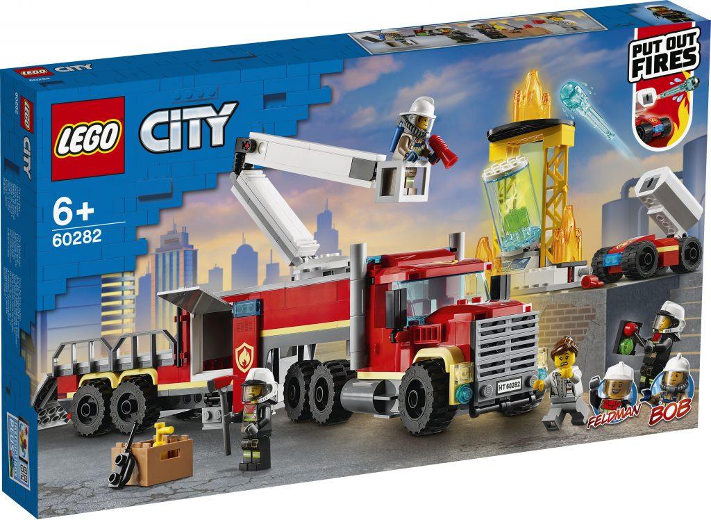レゴ®シティ 消防指令基地