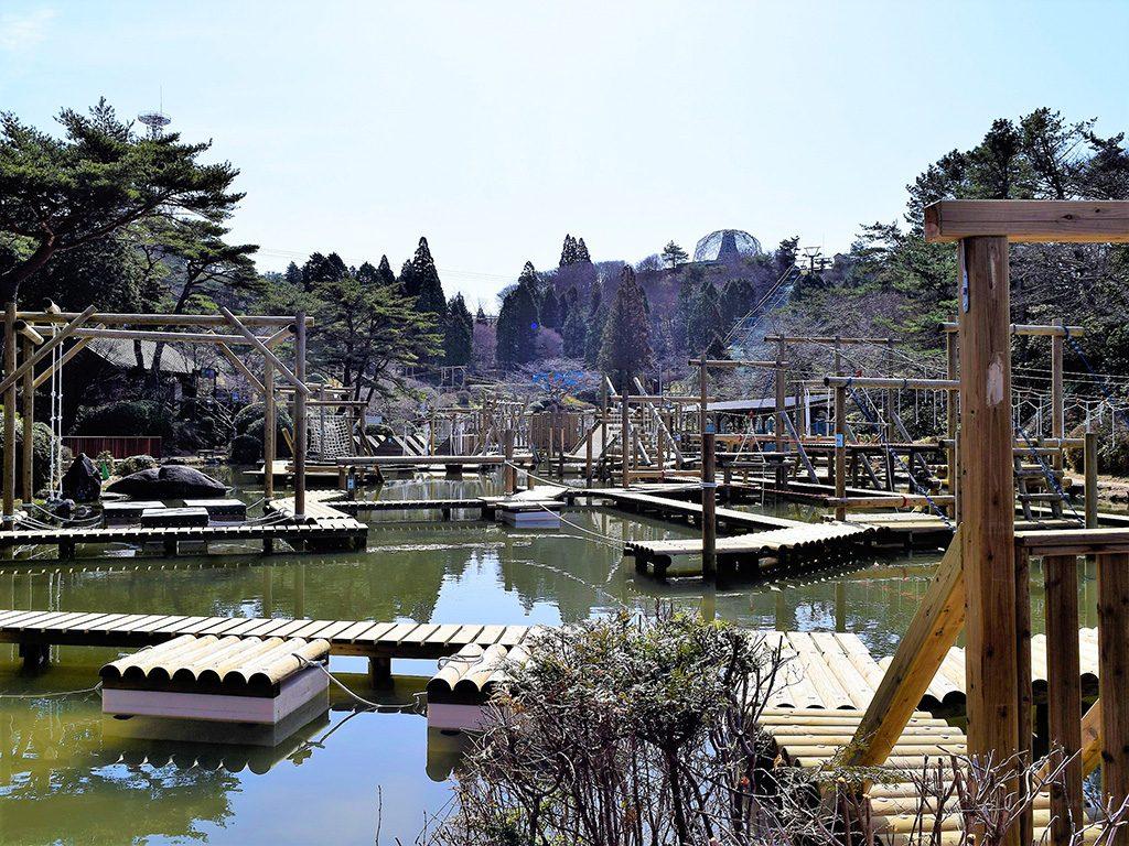 六甲山アスレチックパークGREENIA(兵庫県/神戸市)