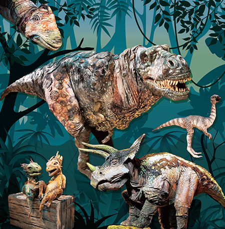 リアル恐竜ショー「恐竜パーク」の全国ツアー