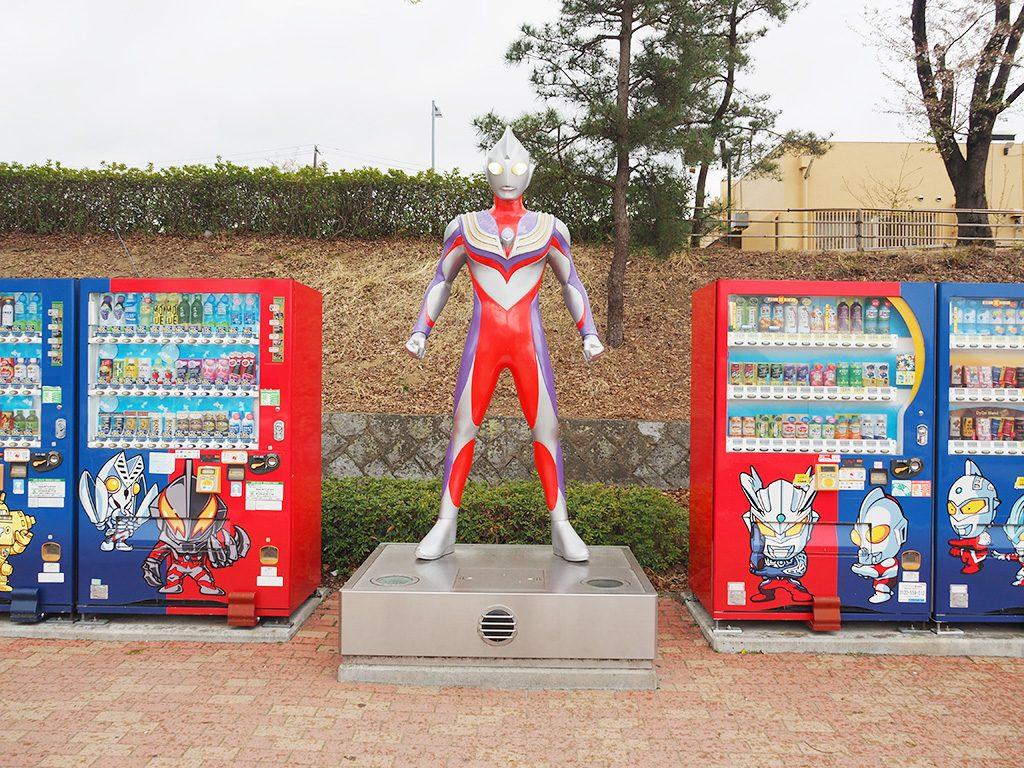 ウルトラマン自販機/安達太良SA【下り】(福島県/本宮市)