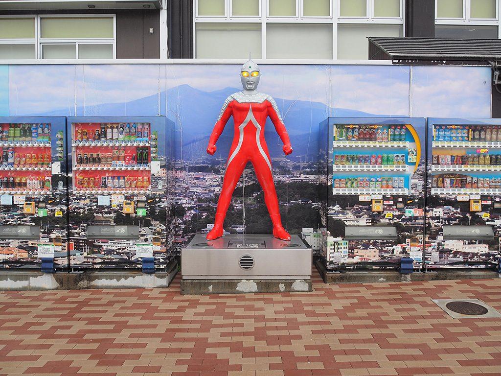 ウルトラセブン自動販売機/安達太良SA【上り】(福島県/本宮市)