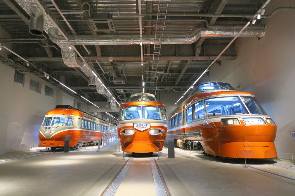 ロマンスカーミュージアムがオープン!展示車両、シミュレーターなど見どころは?
