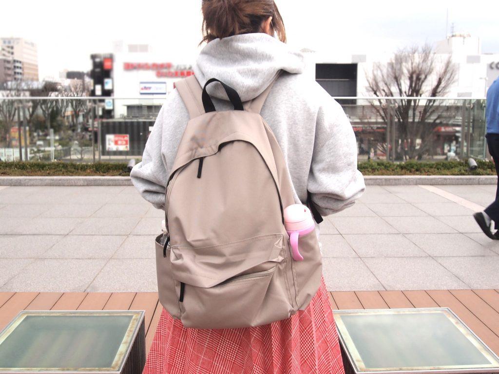 マザーズバッグに大活躍!無印良品の「肩の負担を軽くする 撥水 リュックサック」って?