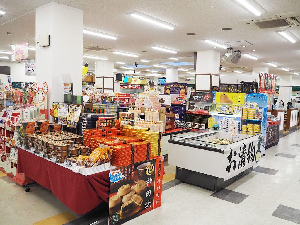 ショッピングコーナー/蓮田SA【下り】(埼玉県/蓮田市)