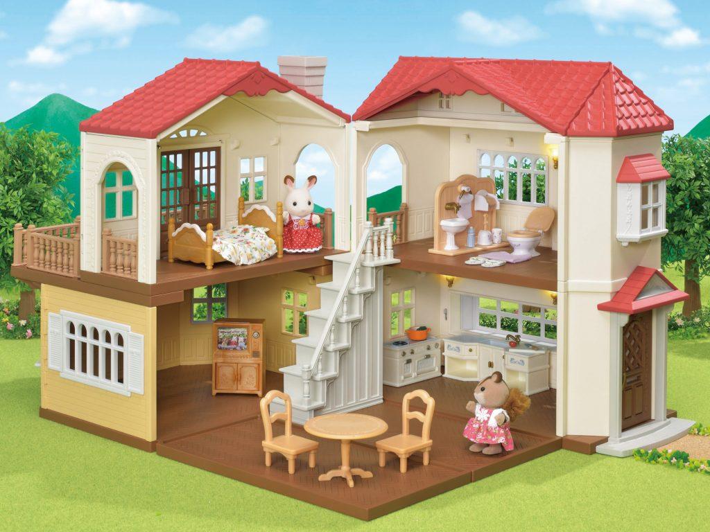 【プレゼント】シルバニアファミリー「赤い屋根の大きなお家」と「赤い屋根の大きなお家 おすすめ家具セット」を5名様に!【るるぶID会員限定】