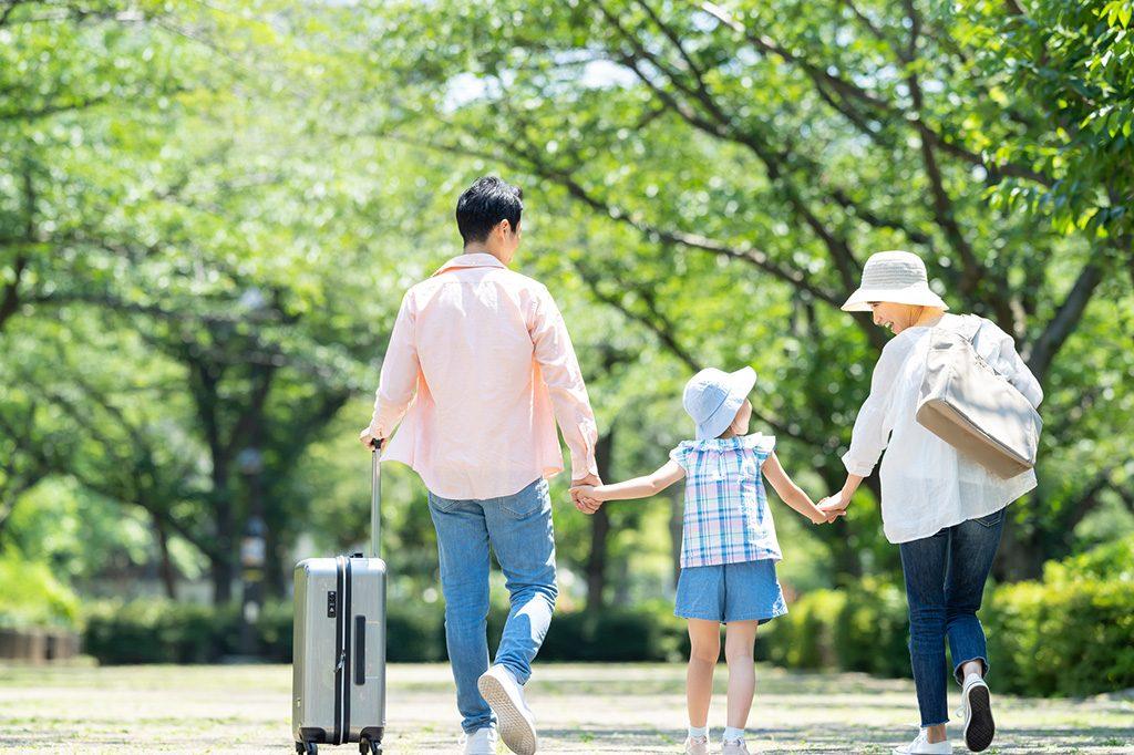 子連れ家族旅行(イメージ)