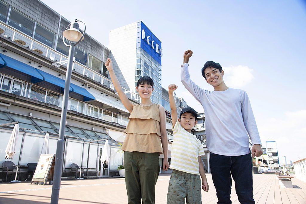 デックス東京ビーチなら家族みんなの『衣食遊』をまるごと網羅!1日遊べるスポットが盛りだくさん