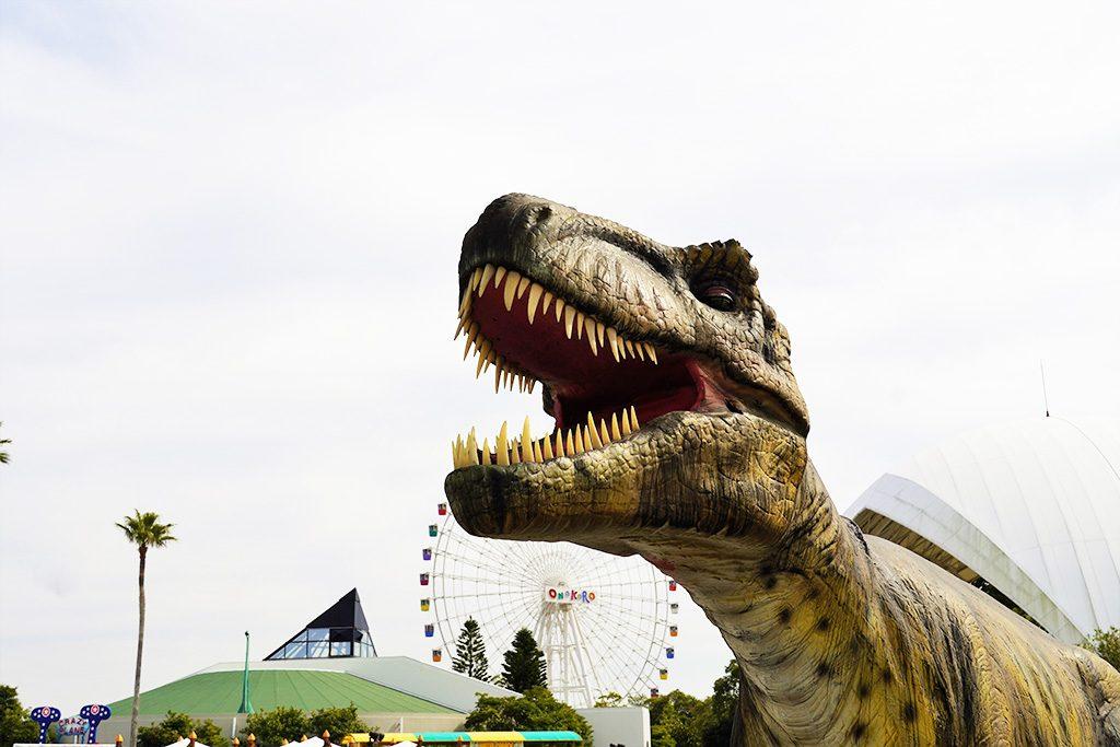 迫力のティラノサウルス/淡路ワールドパークONOKORO(兵庫県/淡路市)