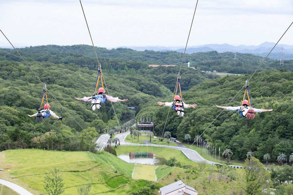 ネスタリゾート神戸の遊び方は?子ども向けアトラクション、バーベキュー、温泉など