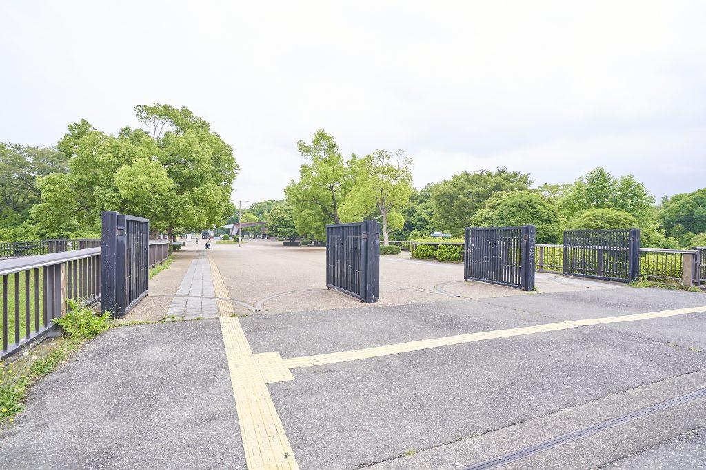 「専用通路」/国営昭和記念公園(東京都/立川市)