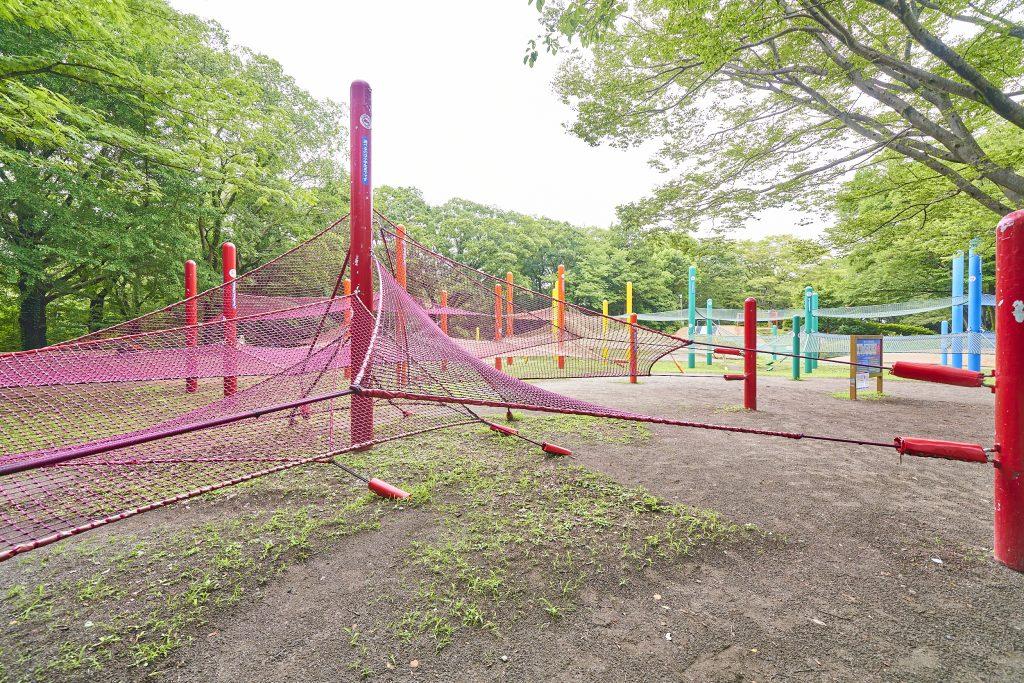 「虹のハンモック」/国営昭和記念公園(東京都/立川市)