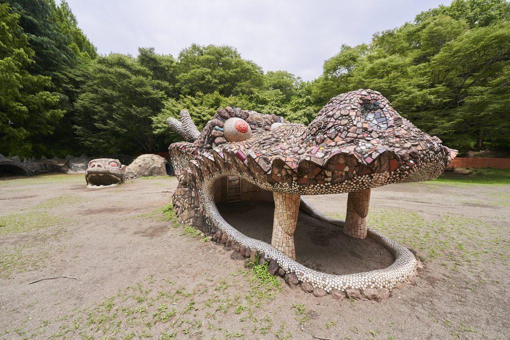 「ドラゴンの砂山」/国営昭和記念公園(東京都/立川市)