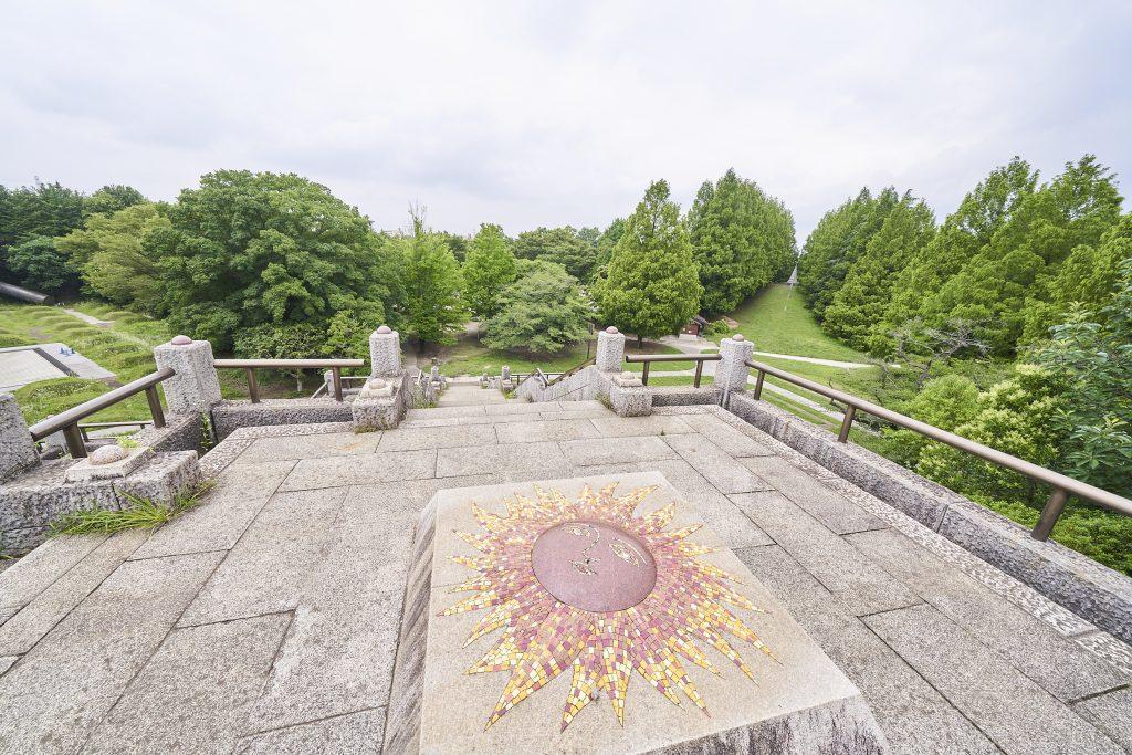 「太陽のピラミッド」/国営昭和記念公園(東京都/立川市)