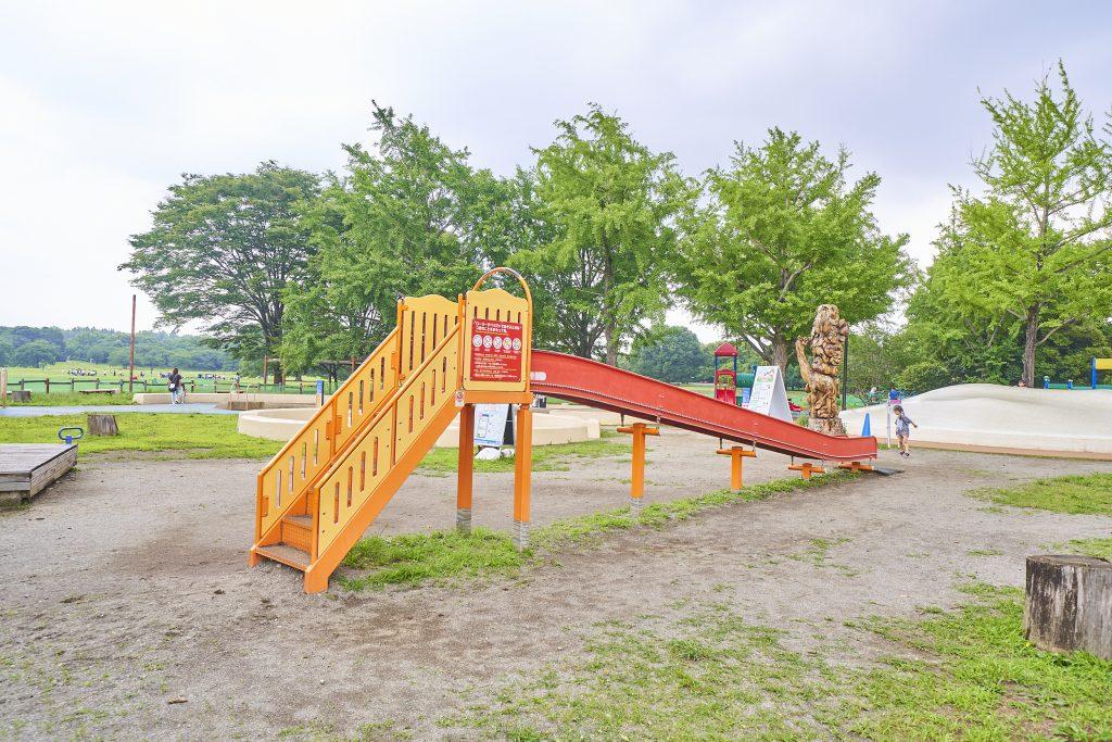 「ローラーすべり台」/国営昭和記念公園(東京都/立川市)