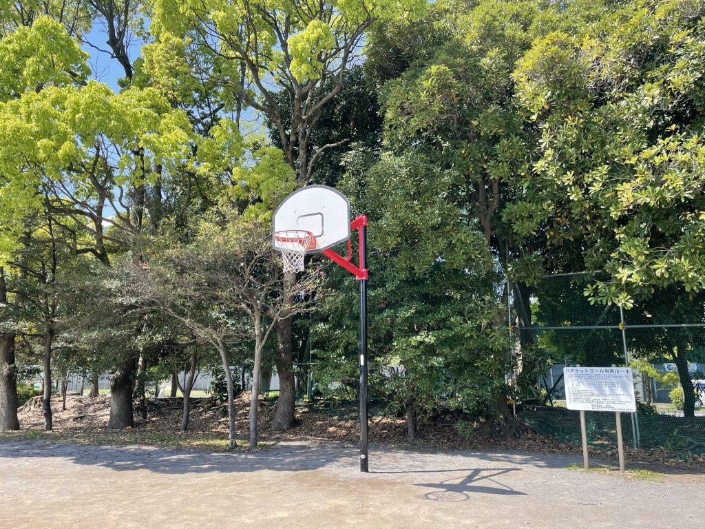 「バスケットゴール」/辰巳の森海浜公(東京都/江東区)