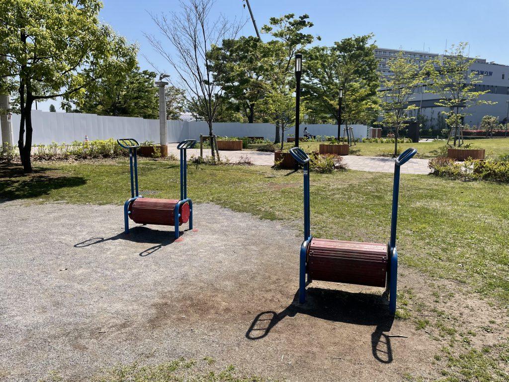 「ローリングステップ」/辰巳の森海浜公(東京都/江東区)