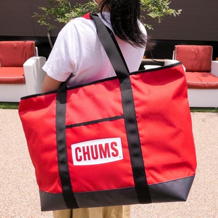 【プレゼント】CHUMS「チャムスロゴソフトクーラートート」を5名様に!【るるぶID会員限定】