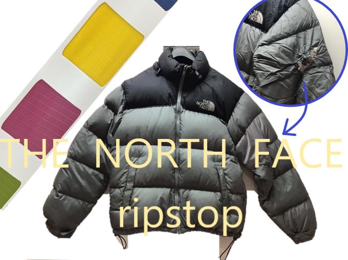 THE NORTH FACE(ザ ノース フェイス) リップストップ素材 ブロック補修
