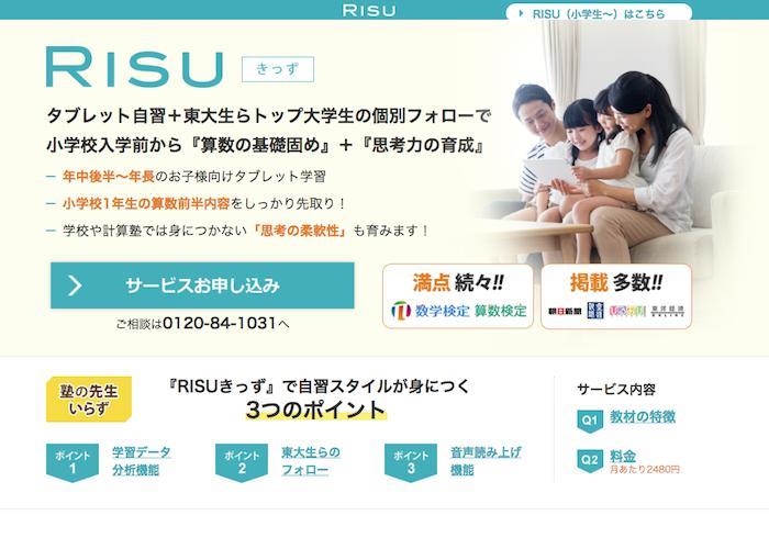 RISU(きっず)の画像