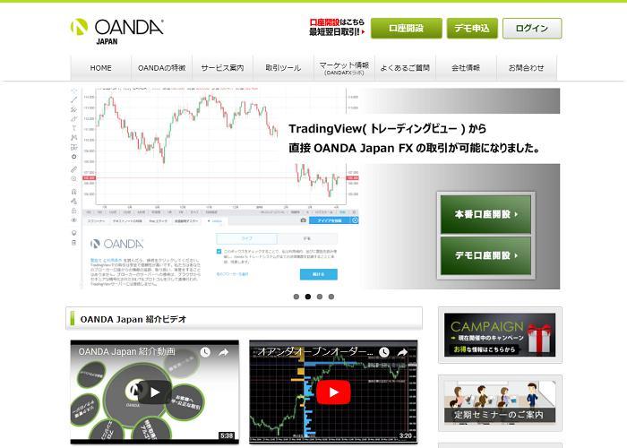 OANDA Japan (オアンダ ジャパン)の画像