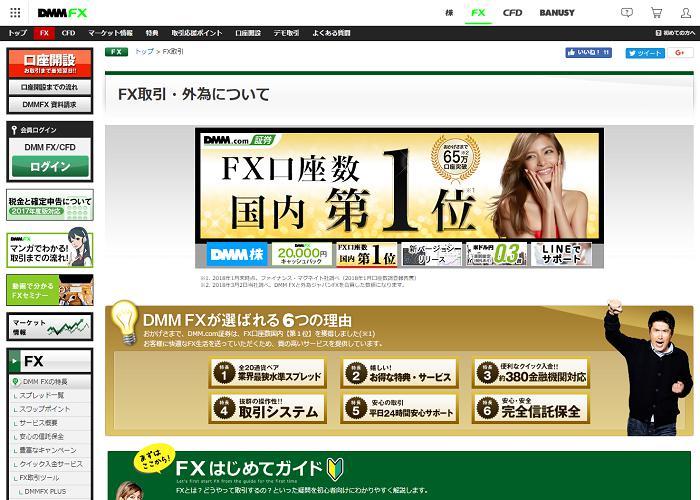 DMMFXの画像