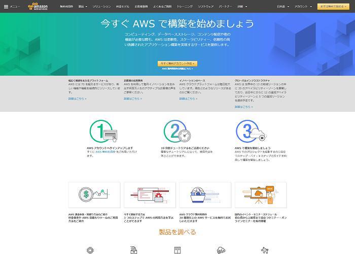 AWS(amazon Web services)の画像
